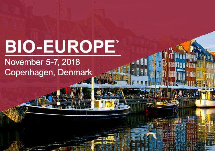 Bio-Europe 2018, Copenhagen