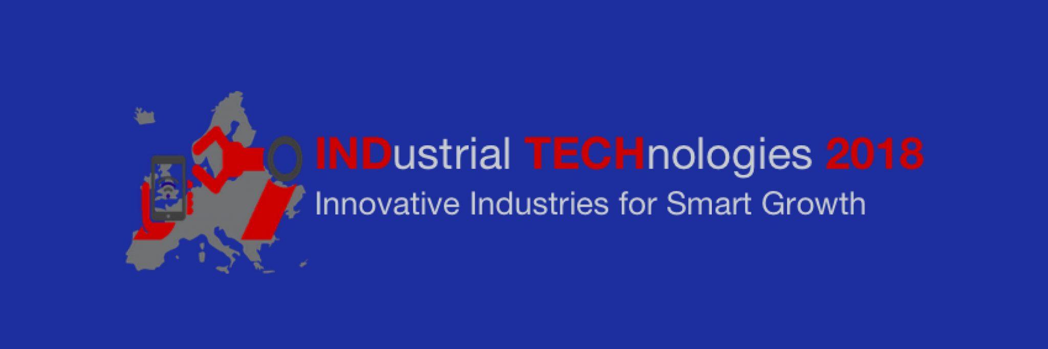 INDustrial TECHnologies 2018 – Vienna