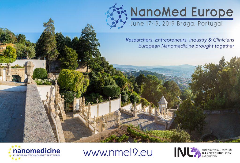 Nanomed Europe 2019 - NME19 - June 17-19 - Braga, Portugal