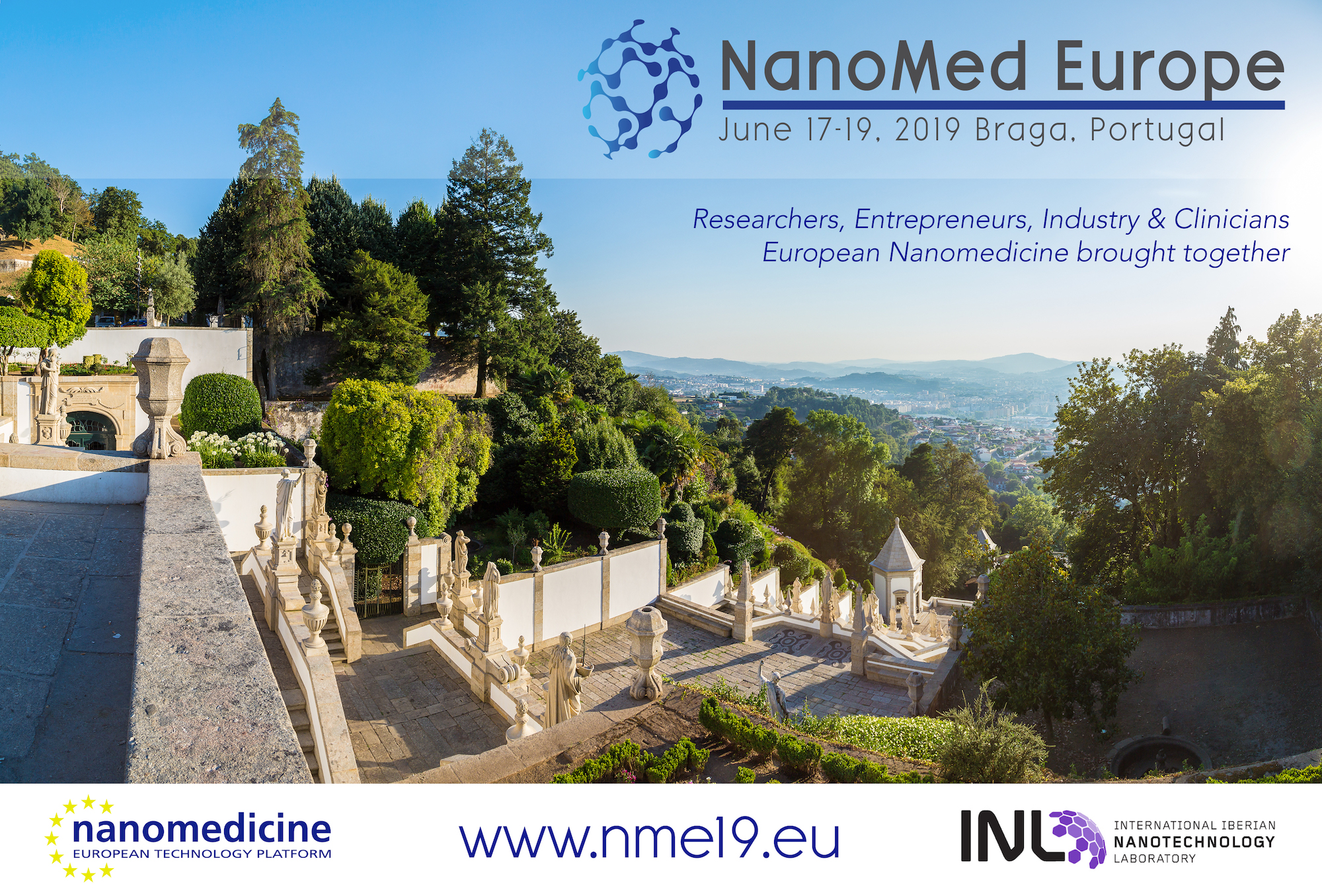 Nanomed Europe 2019 – NME19 – June 17-19 – Braga, Portugal