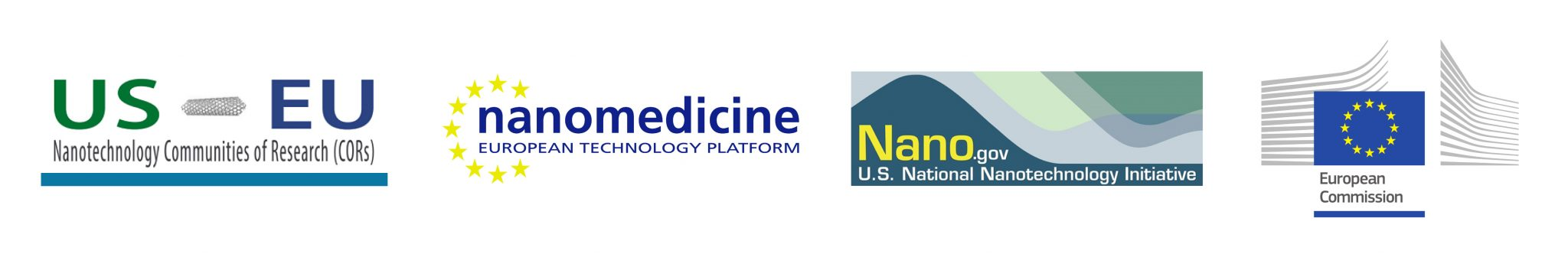 Nanomedicine CoR Partners logos
