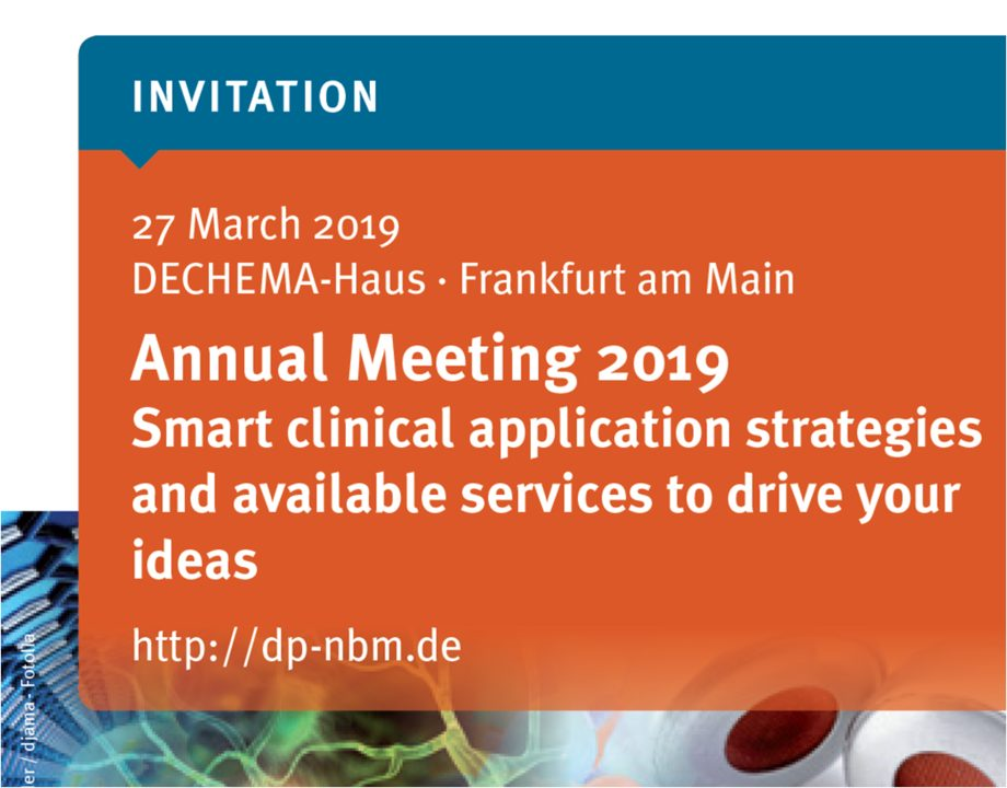 Annual Meeting 2019 of the German Nanomedicine Platform