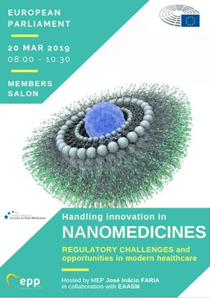 Handling innovation in nanomedicines: regulatory challenges and opportunities in modern healthcare – EAASM / EU Parliament