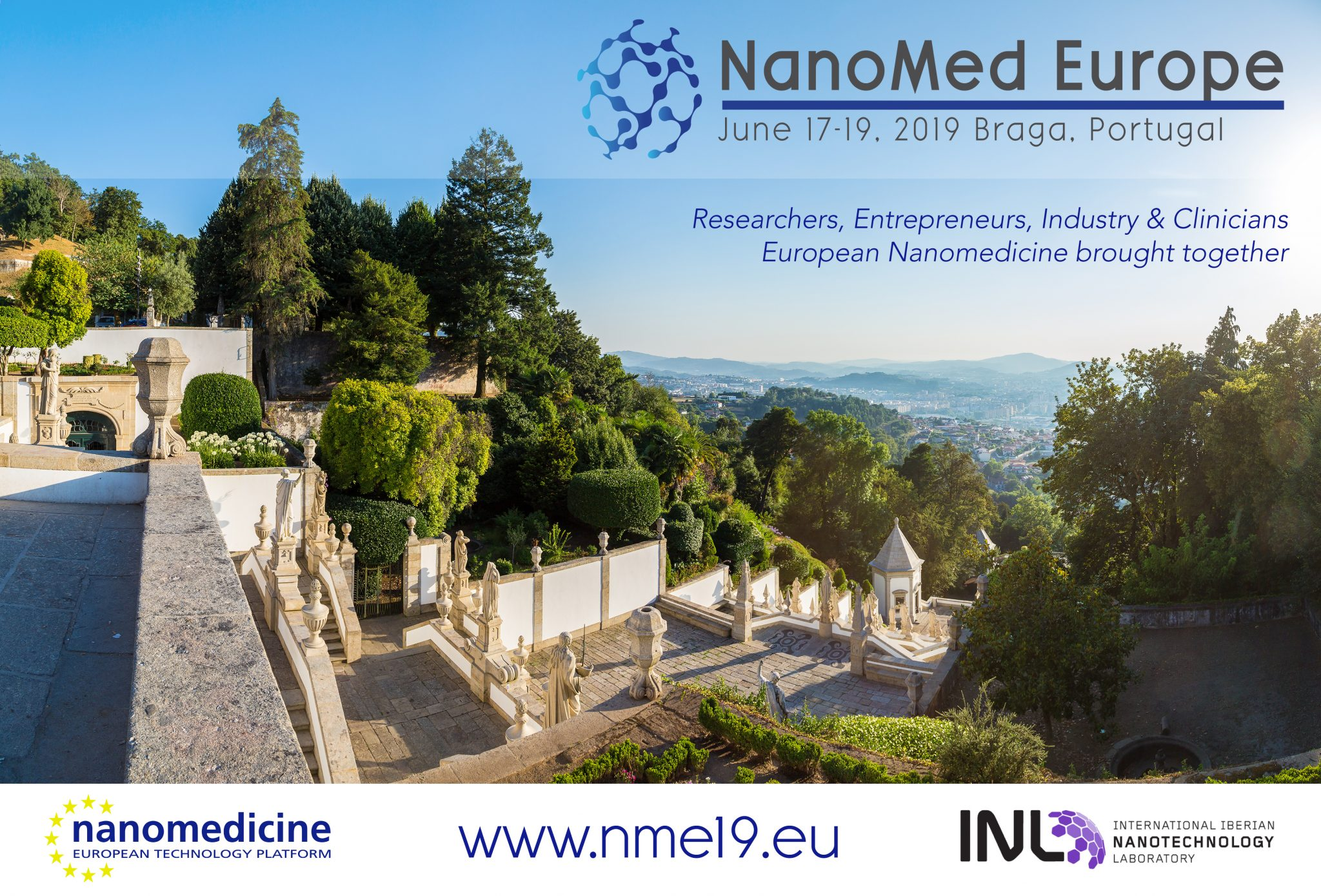 Nanomed Europe 2019, June 17-19, Braga (Portugal): ABSTRACT SUBMISSION & REGITSRATION OPEN!