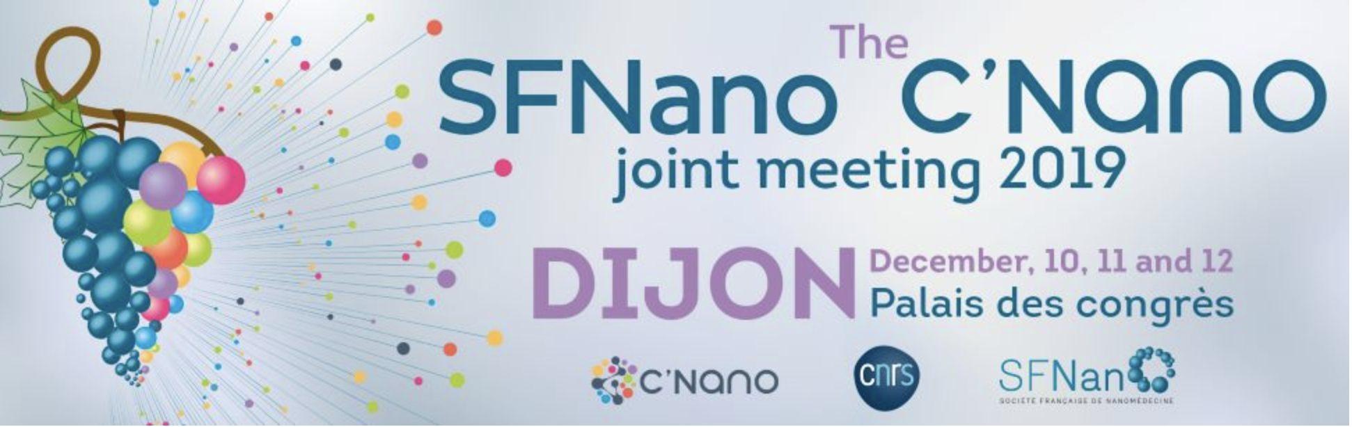C'Nano SFNano joint meeting 2019 in Dijon, France