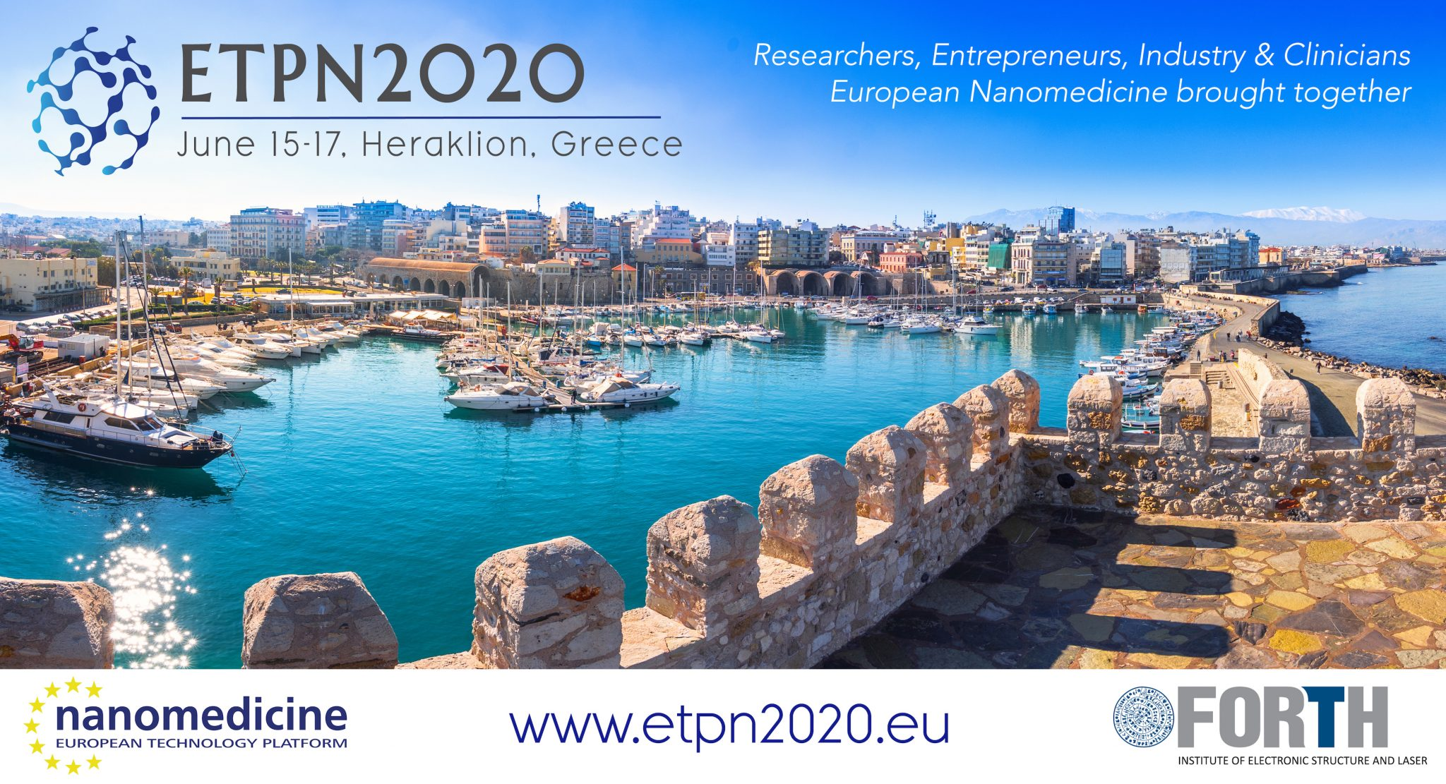 SAVE THE DATE! #ETPN2020 – June 15-17, Heraklion, Crete