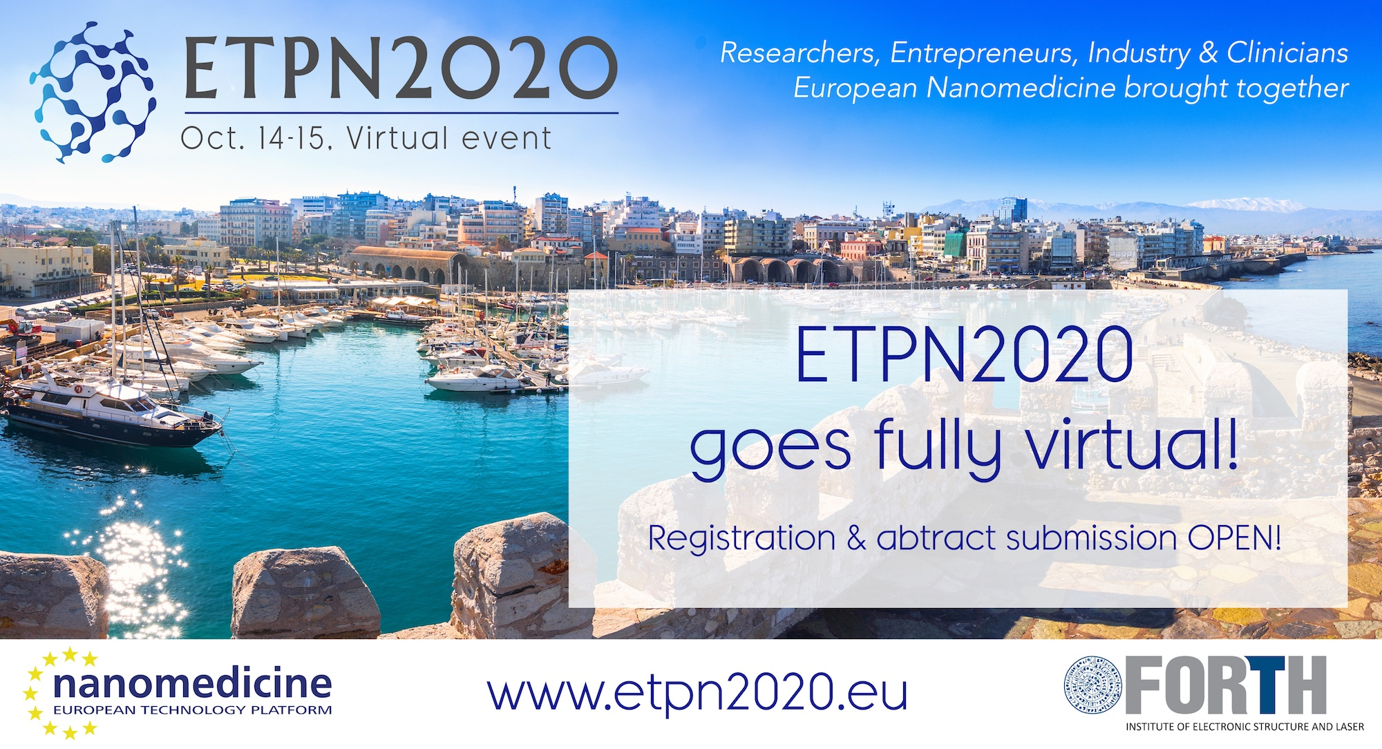 ETPN2020, Oct. 14-15, Virtual event