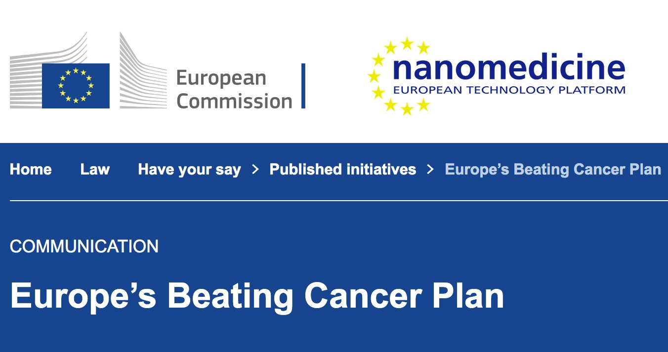 ETPN position about Europe's Beating Cancer Plan: get involved!