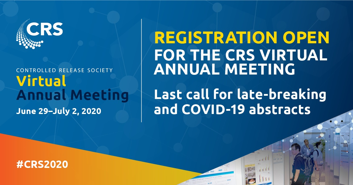 CRS2020 – Virtual annual meeting – June 27th – July 1st, 2020