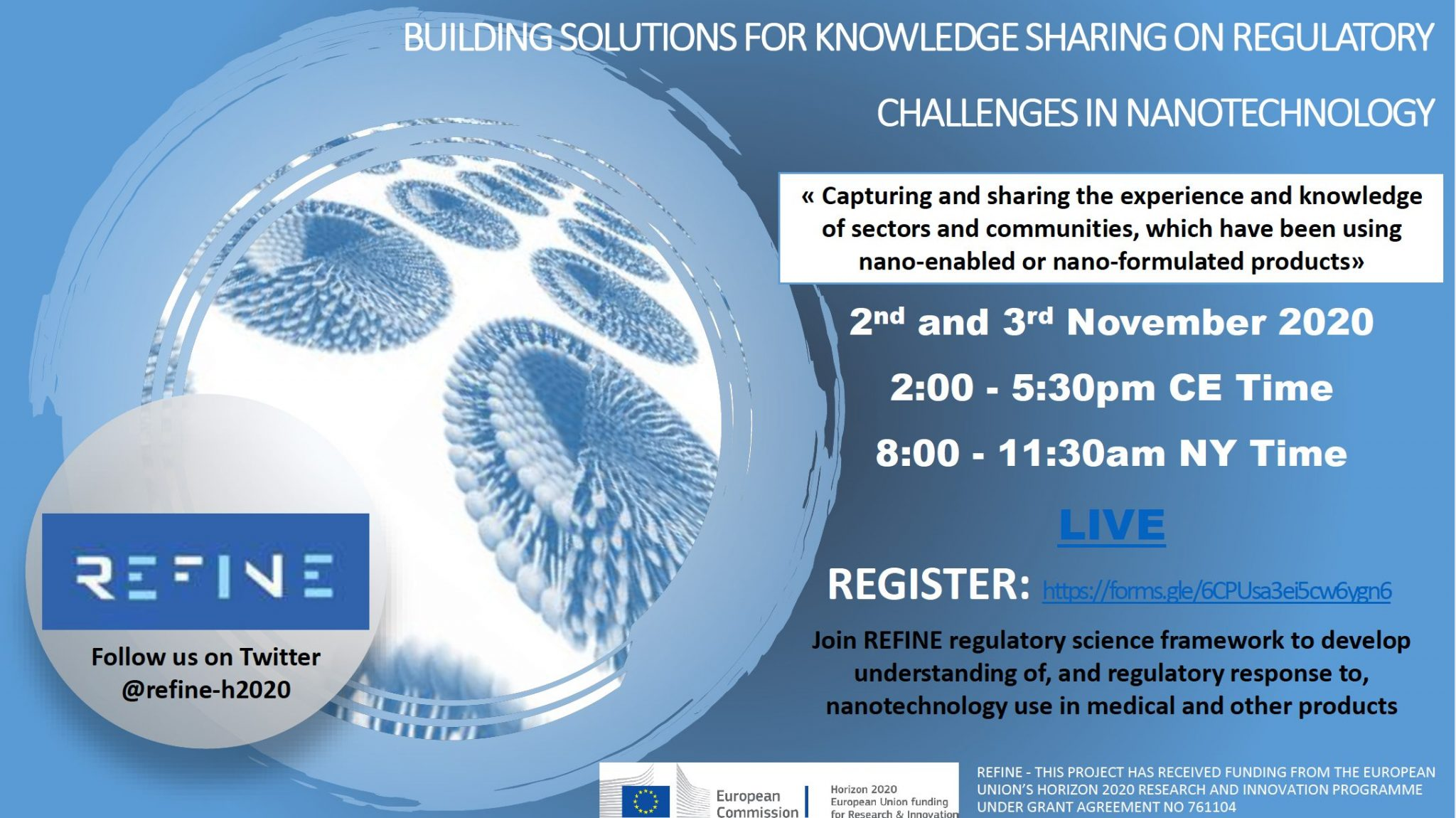 REFINE 2nd Knowledge Exchange Conference