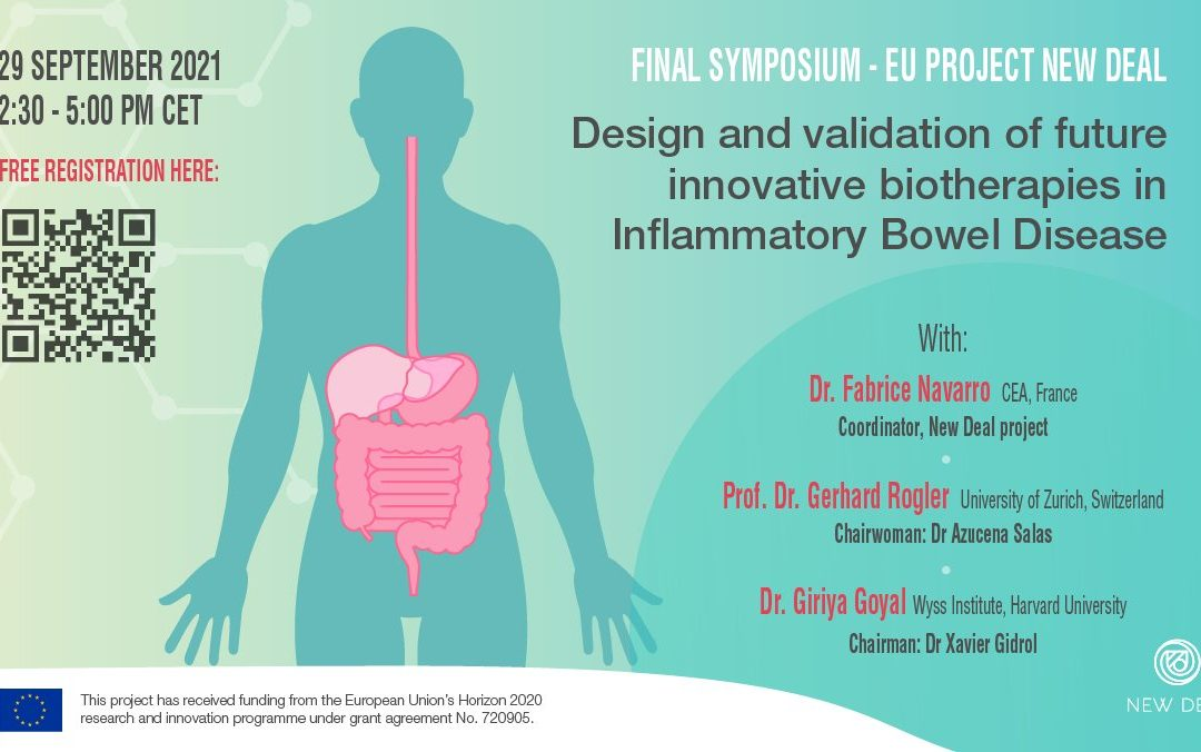 """NEW DEAL Final Symposium – """"Design & validation of future innovative biotherapies in Inflammatory Bowel Disease"""""""